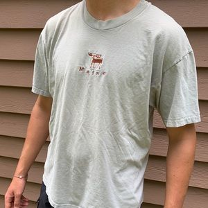Maine embroidered t-shirt